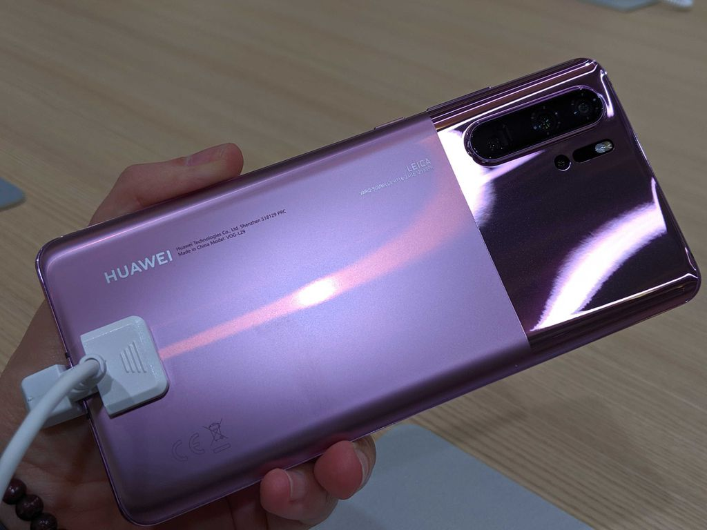 New Huawei P30 Pro na cor Misty Lavender