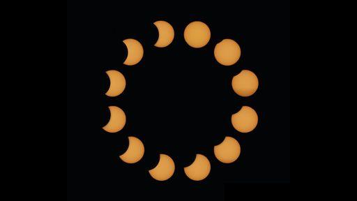 Se você perdeu o último eclipse solar de 2020, veja essas fotos incríveis!