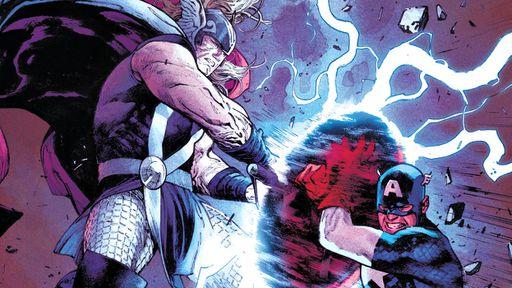 Thor finalmente explica por que o Capitão América pode levantar seu martelo