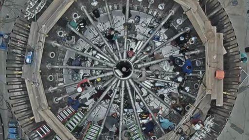 Musk mostra o complexo sistema do motor que será usado no Super Heavy