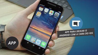 Transforme o seu Android em um iPhone #DicaDeApp