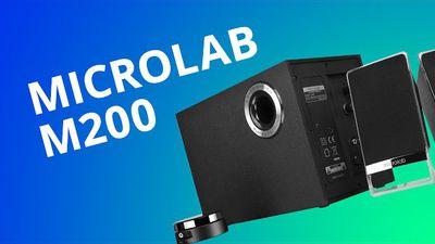 Microlab M200 Platinum, a caixa de som compacta pra quem preza fidelidade [Análise]