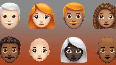 Novos emojis do iOS trazem desde novos cabelos e animais, até verduras