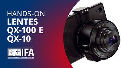 Lentes QX-100 e QX-10 da Sony: melhore fotos de smartphones [Hands-on   IFA 2013