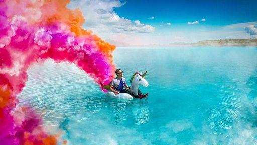 Lago tóxico na Rússia vira ponto turístico para influenciadores no Instagram