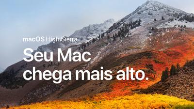 Apple libera atualização do macOS High Sierra com correções de segurança