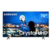 "Smart TV Crystal UHD 4K LED 70"" Samsung - UN70TU7000GXZD Wi-Fi Bluetooth 2 HDMI 1 USB"