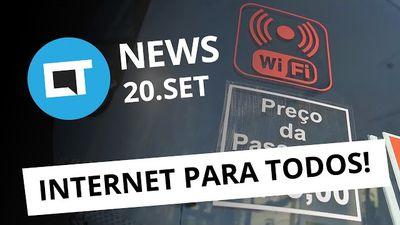 Internet grátis no transporte público, novidade no WhatsApp, evento do Google e