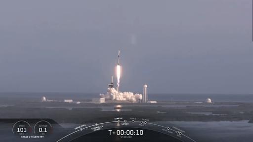 Mais um lote de 60 satélites Starlink é lançado pela SpaceX nesta quarta (18)