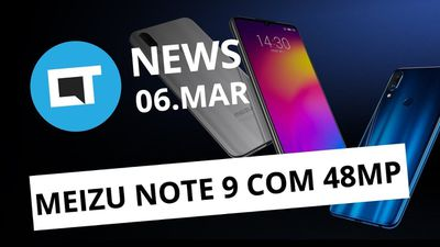 Meizu Note 9 com 48MP; Android Q modificado; Paciente curado do HIV e +[CT News]