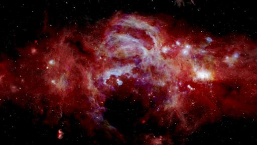 Veja o centro da Via Láctea em uma imagem muito mais nítida graças à NASA