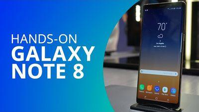 Samsung Galaxy Note 8 [Hands-on / Primeiras impressões]