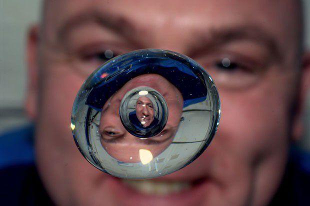 Astronauta autorretrato