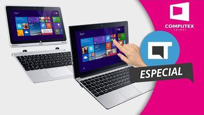 Acer Switch V10 e One10: apostas para concorrer com Chromebooks [Hands-on | Computex 2016]