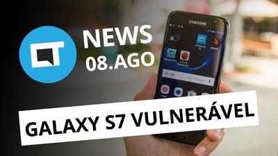 Android Oreo na linha Galaxy; Twitter da Motorola BR hackeado e + [CT News]