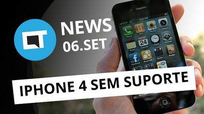 Apple encerra suporte ao iPhone 4, John McAfee processa Intel e + [CT News]