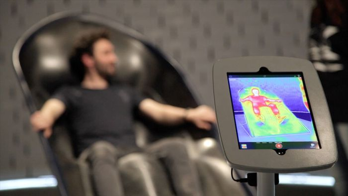 Nike apresenta conceito de cadeira para recuperação muscular de atletas