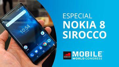 Nokia 8 Sirocco: o flagship da Nokia com Android One [MWC 2018]