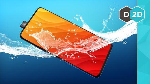 OnePlus 7 Pro passa no teste de resistência à água e fica 30 minutos submerso