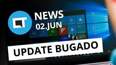 Microsoft libera atualização errada pro Win10; CIA está espionando PCs; e + [CT News]