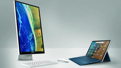 HP anuncia Chromebook destacável e All-in-One com tela giratória e Chrome OS