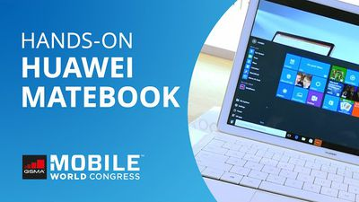 Huawei MateBook: a aposta da chinesa para bater o iPad Pro [Hands-on | MWC 2016]