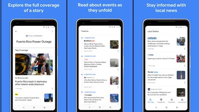 Novo aplicativo do Google Notícias chega ao iOS