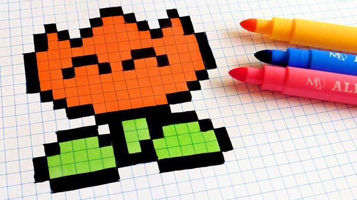Apps Para Colorir Imagens De Pixel Art São A Nova Febre Da