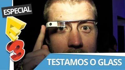 Veja o Google Glass em pleno funcionamento! [CT Entrevista | E3 2013]
