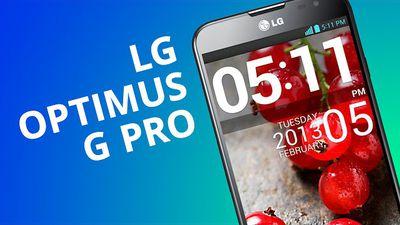 Optimus G Pro: o phablet da LG inspirado no Nexus 4 [Análise]