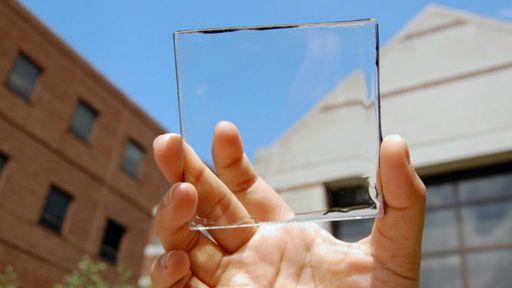 Pesquisadores desenvolvem o primeiro painel de energia solar transparente