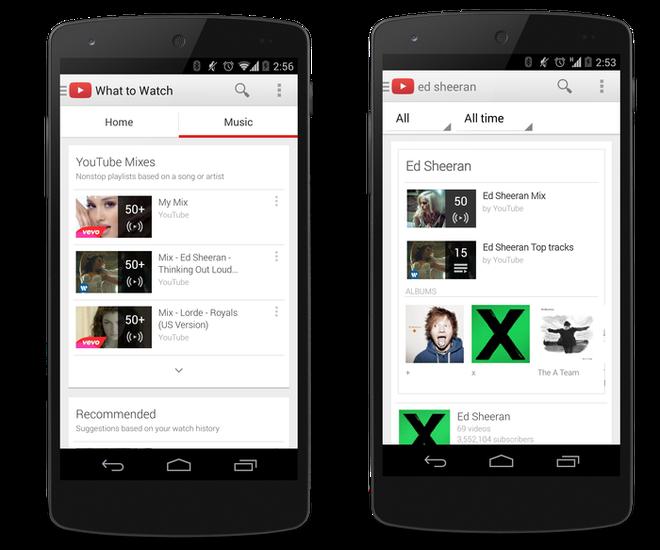 YouTube Music Key 1