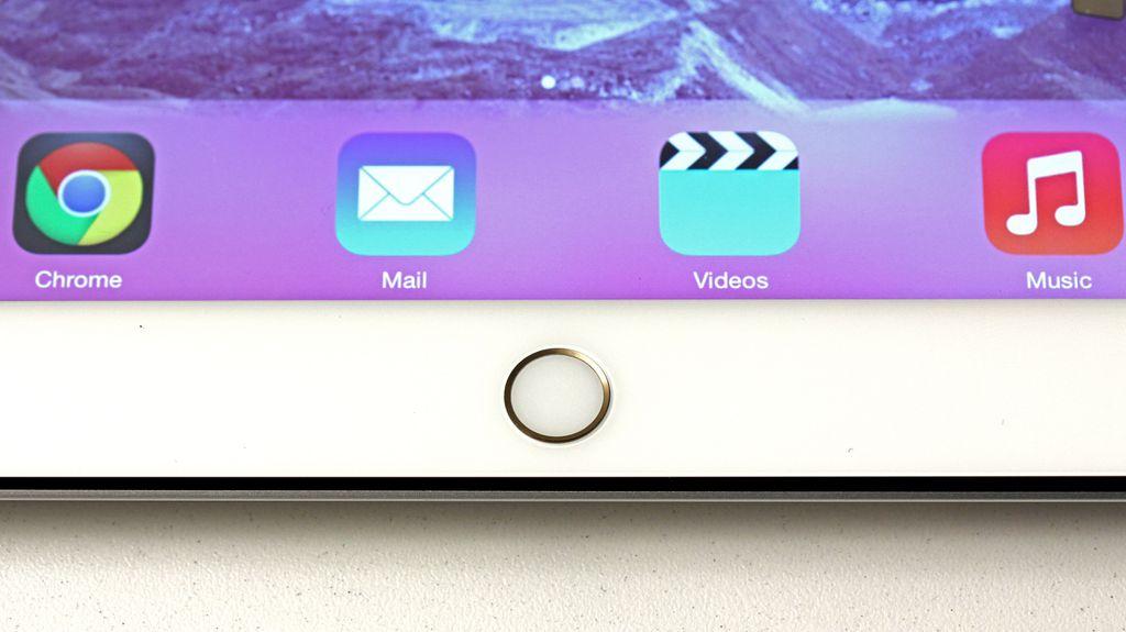 A chegada do Touch ID ao iPad Air 2 está entre as maiores novidades do novo modelo do gadget da Maçã