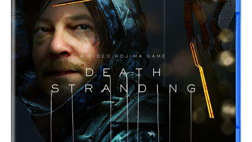 Hideo Kojima revela arte da embalagem de Death Stranding na Comic Con