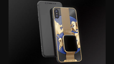 Caviar lança iPhone Xs Max com Apple Watch banhado a ouro por US$ 21 mil