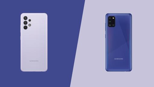 Samsung Galaxy A32 4G vs Galaxy A31: o intermediário evoluiu muito?