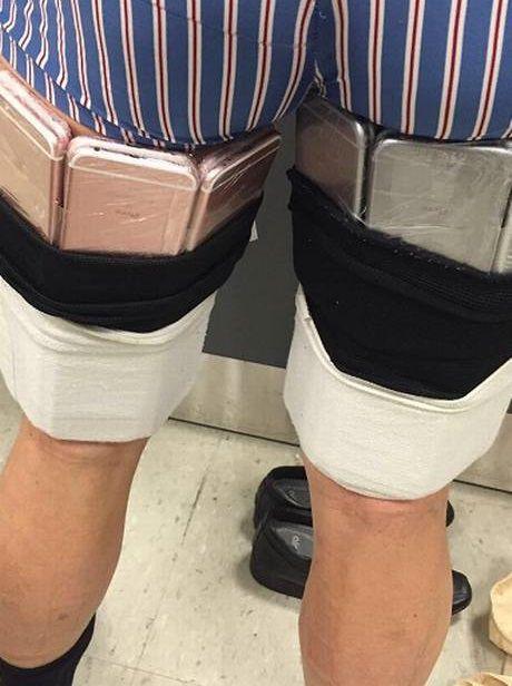 iphones contrabandeados