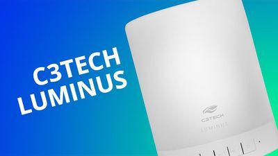 C3Tech Luminus, a caixa de som que também é luminária [Análise]