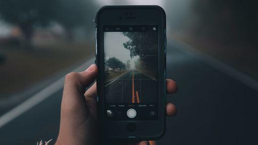 Como ativar a grade de alinhamento da câmera do iPhone