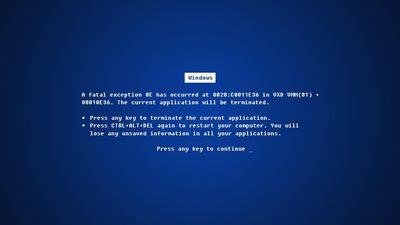 Microsoft adia atualização do Windows 10 para evitar tela azul da morte
