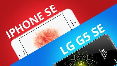 iPhone SE vs LG G5 SE [Comparativo]