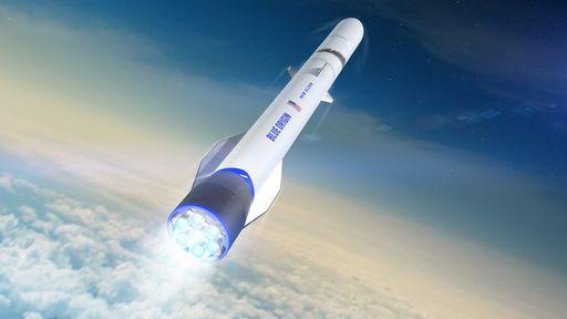 Blue Origin está mudando o projeto do foguete New Glenn para competir com SpaceX