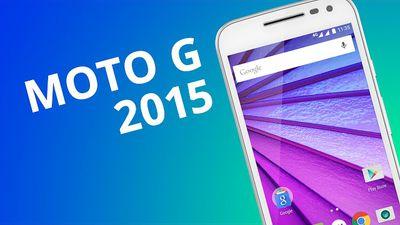 Moto G 2015 (3a. geração): mais uma revolução no mercado de smartphones? [Anális