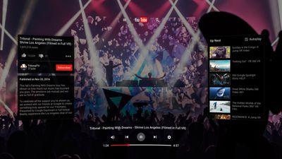 Google lança experiência de realidade virtual do YouTube no Steam