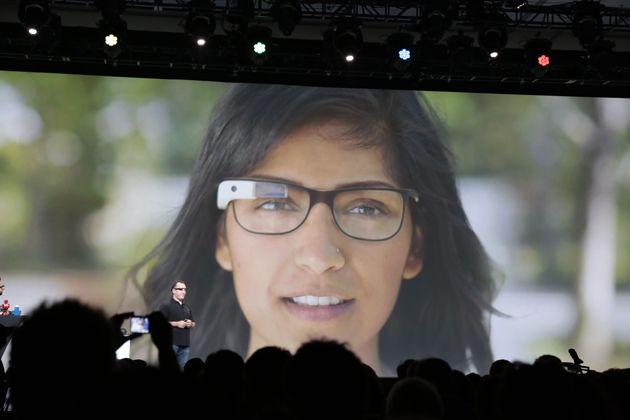 Óculos de realidade aumentada Google