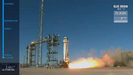 Turismo espacial | Blue Origin faz mais um voo suborbital com a New Sheppard