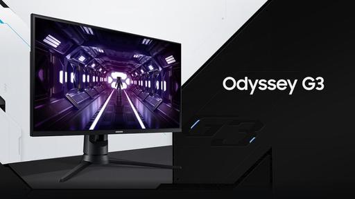 Samsung Odyssey G3 chega ao Brasil com taxa de atualização de 144 Hz