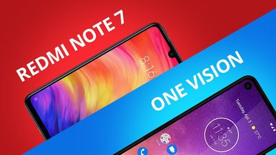 Redmi Note 7 vs Moto One Vision [Comparativo]