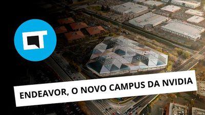 Conheça o novo campus da NVIDIA na Califórnia