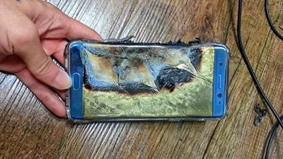 Samsung revela razões para explosões do Note 7